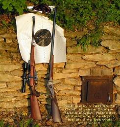 Úprava vojenské pušky Mosin na loveckou kulovnici ráže 45-70 Govt.